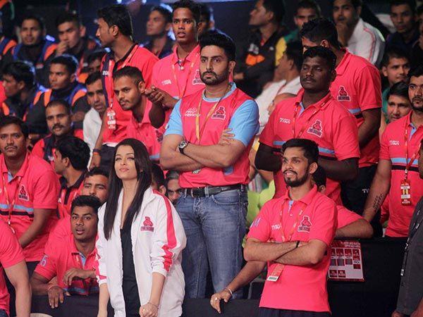 Aishwarya Rai Bachchan At Pro Kabbadi League, Cheers Abhishek Even In Sickness!