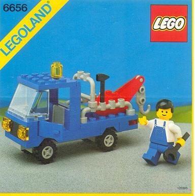 Tow Truck - Legoland 6656