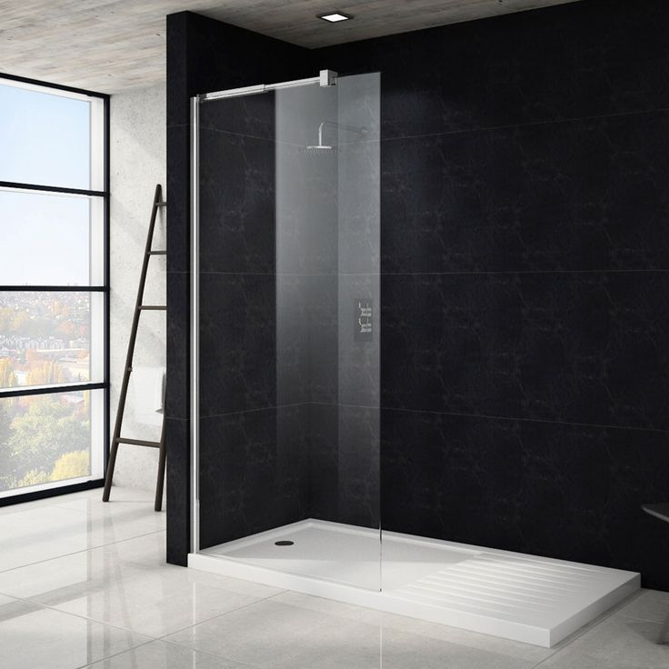 Saturn Wet Room Screen   Various Sizes (1850mm High) Part 71
