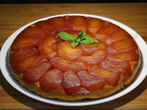 Receta Tarta Tatin - Recetas de cocina, paso a paso, tutorial - YouTube