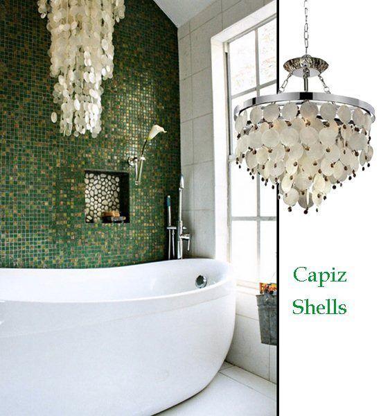 Picture Gallery Website capize lamp Capiz Shell chandelier