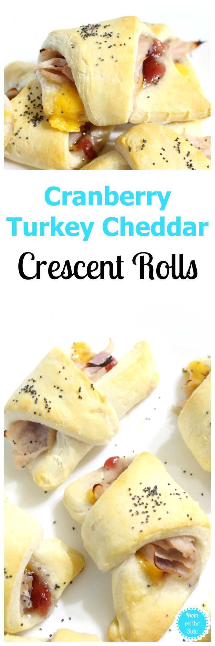 Thanksgiving Recipe for Cranberry Turkey Cheddar Crescent Rolls that are a great appetizer or perfect for leftover turkey after Thanksgiving dinner! #ad #immaculatebaking #thanksgiving #recipes #recipeoftheday #recipeideas #thanksgivingdinner #thanksgivingrecipes #cranberry #crescentrolls #baking