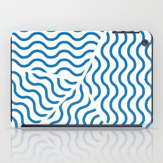 Stormy Seas iPad Case by Fimbis | Society6 water, wavy, ocean, nautical, sailing, sailor, sea, ocean, summer, beach, iPad mini, design, fashion,