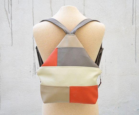 Backpacks – Handmade Backpack. – a unique product by Loutik on DaWanda