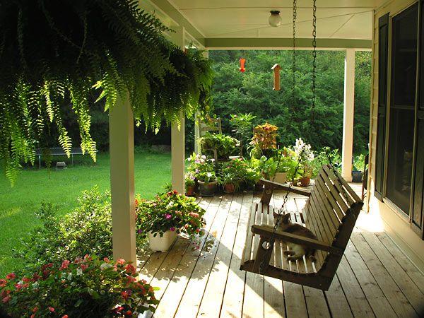 Amerikanischer Wohnstil Porch Swings Porch And Swings