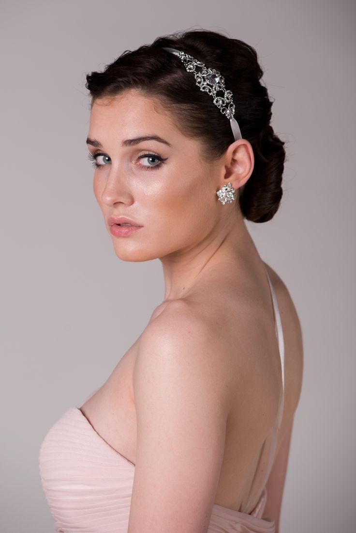 crystal headband by NOVIA BLANCA www.novia-blanca.pl opaska ślubna