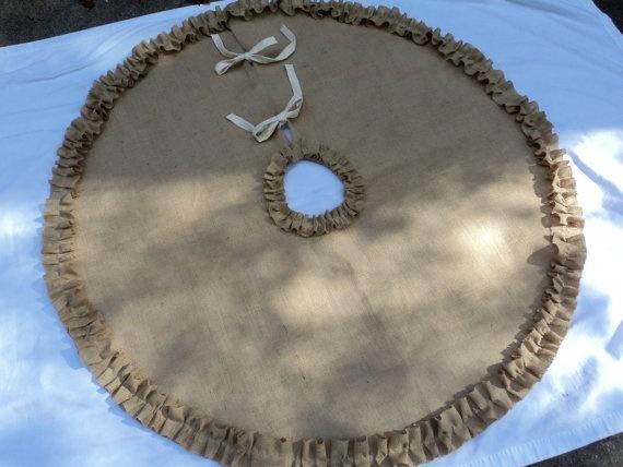 52 inch christmas tree skirt crochet pattern