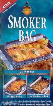Savu Smoker Bags. I found them at Market Street in front of the fresh seafood case. Cook your entire dinner in the oven, or on the grill. all inside the bag, Recipes and info: http://www.savu.fi/in-english The Scandinavian Honey Salmon recipe is amazing!!