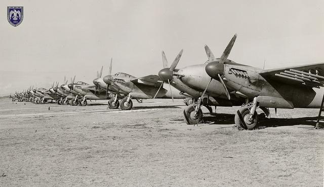 de Havilland DH.98 Mosquito Turkish Air Force, via Flickr.
