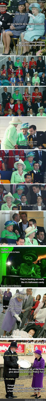 Elizabeth queen of sass