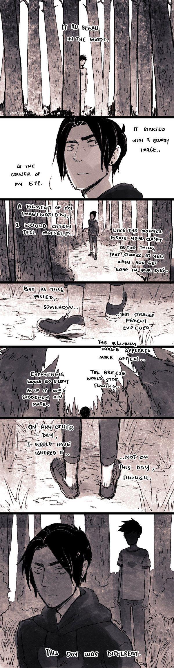 Day 1.0: The Boy in the Woods by demitasse-lover.deviantart.com on @DeviantArt