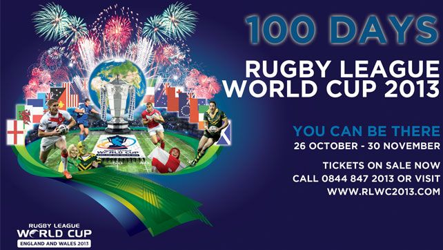 100 days to go to the Rugby League World Cup 2013: http://visitwales.com/latest-news/2013/06/rugby-league-word-cup-2013