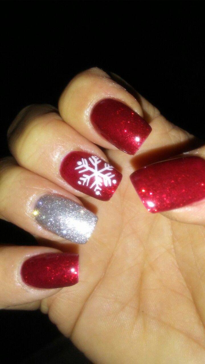 Christmas Nails Xmas Nails Chistmas Nails Toe Nails