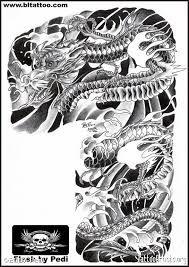 Resultado de imagem para japanese tattoos buddha and wave