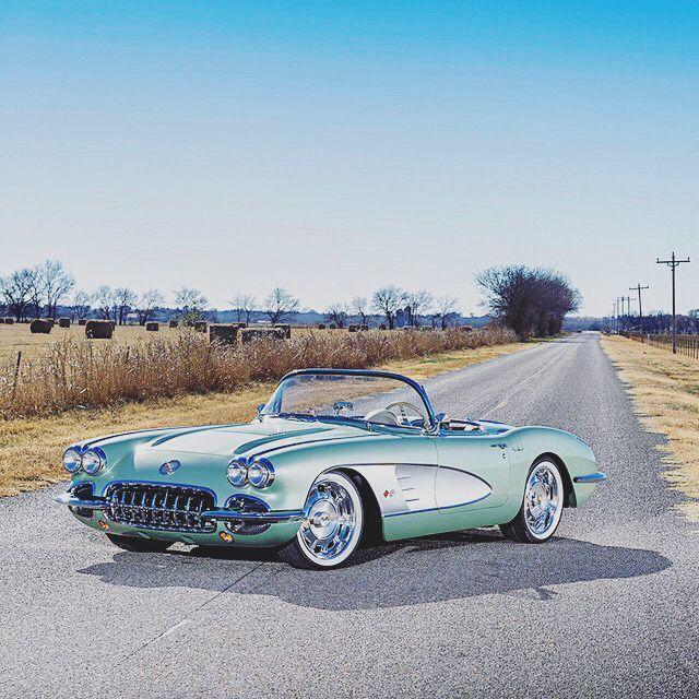 1958 Chevrolet C1 Corvette Facts