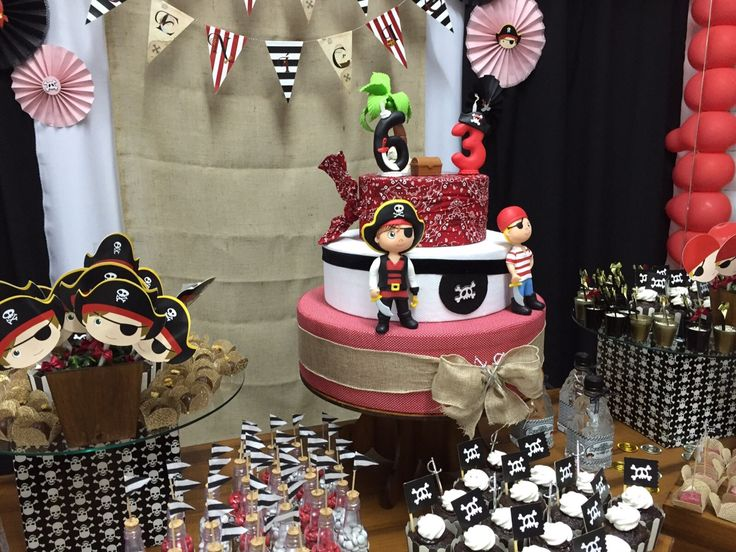 How to do yourself a fake cake and a treasure map: Pirates Party Theme Ideas
