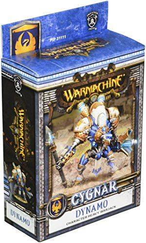 Figure Model Kits - Privateer Press  Cygnar  Dynamo Model Kit >>> See this great product.