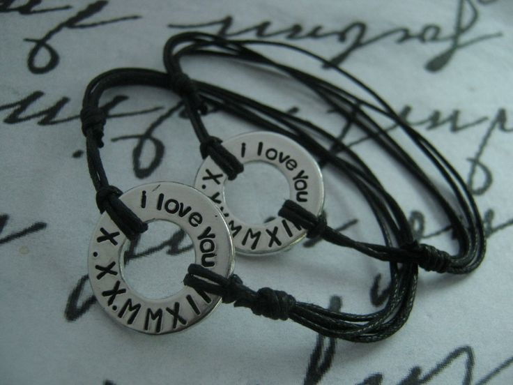 Anniversary gifts for boyfriend, Washer bracelets, Set of 2, Couple Bracelet, Mens, Anniversary gifts for men, Long Distance Relationship by giftforbestfriends on Etsy https://www.etsy.com/listing/207367749/anniversary-gifts-for-boyfriend-washer