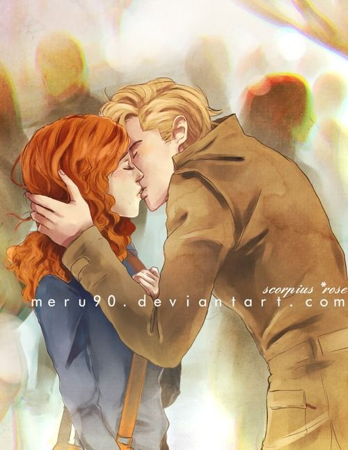 If Hermione and Draco can't be together, why not Rose and Scorpius? They are the ones that should do the footsteps that the dramione should be...