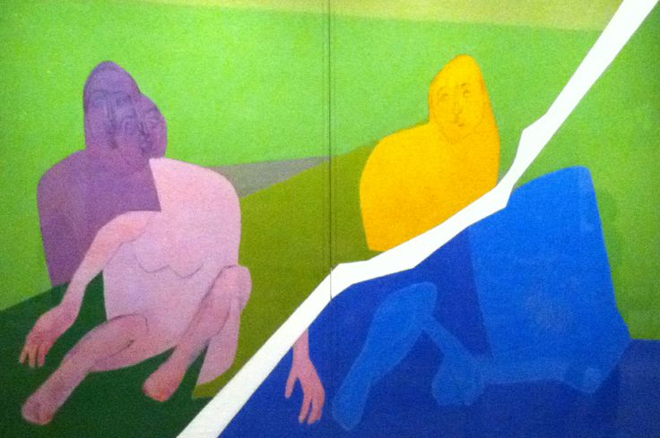 TYEB MEHTA http://www.widewalls.ch/artist/tyeb-mehta/ #contemporary #art #painting
