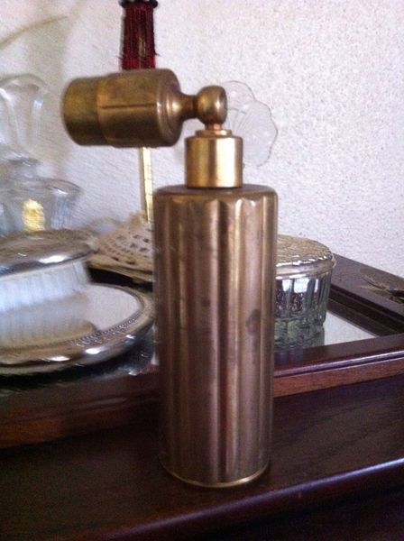 Antique Avon Brass Perfume Atomizer