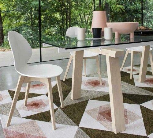 Calligaris Basil Wooden chair