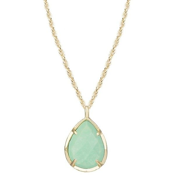 Kiri Necklace in Mint - Kendra Scott Jewelry ($40) ❤ liked on Polyvore featuring jewelry, necklaces, accessories, mint necklace, kendra scott jewelry, kendra scott necklace, mint jewelry and kendra scott