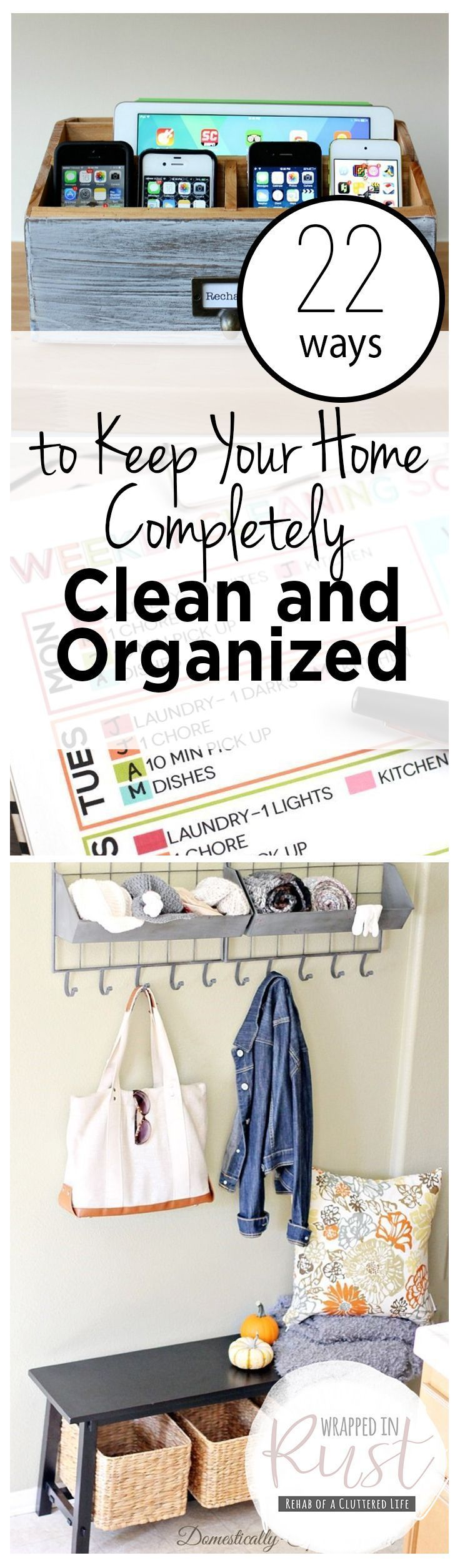 best organize my life images on pinterest households