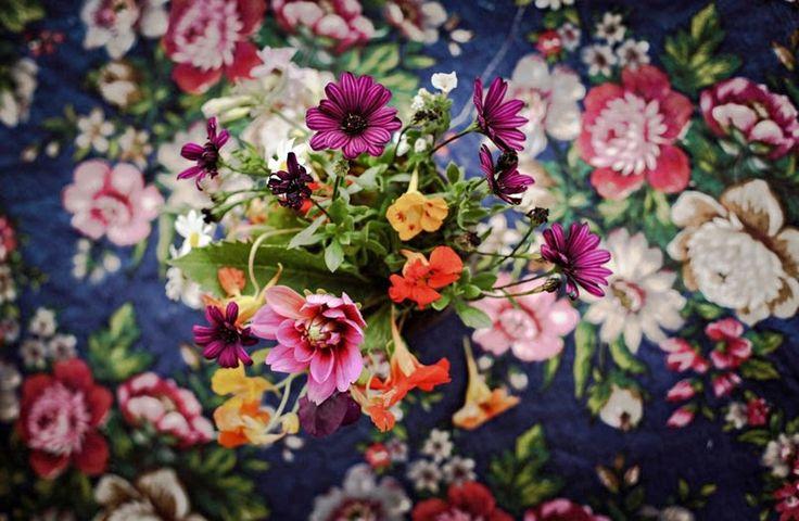 idées comme l'ajout de fleurs dans votre maison