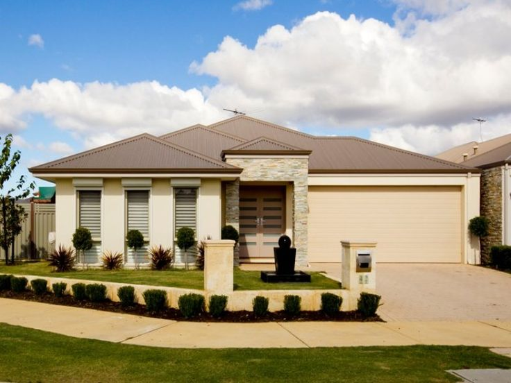 Photo of a rendered brick house exterior from real Australian home - House Facade photo 113899