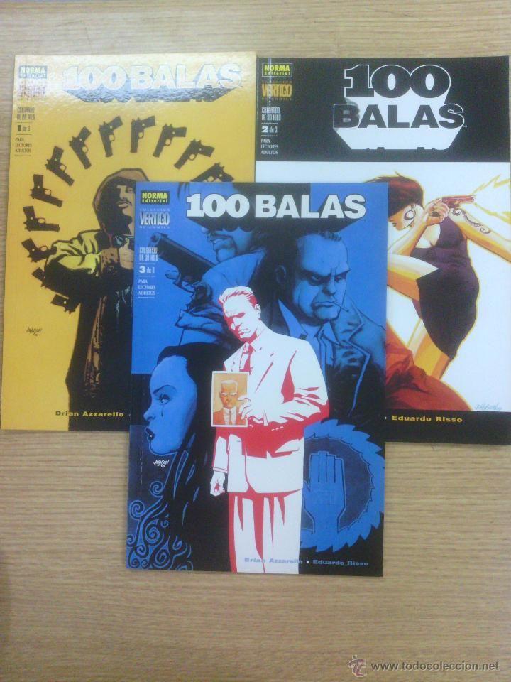 100 BALAS COLGANDO DE UN HILO COLECCION COMPLETA (3 TOMOS) $11
