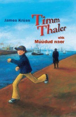 """TIMM THALER EHK MÜÜDUD NAER Autor: JAMES KRÜSS. Timm Thaler müüb oma nakatava naeru võime eest võita kõik kihlveod. Peagi mõistab ta aga, et võime naerda on palju rohkem väärt kui kõik maailma rikkused. Kuidas oma naer tagasi saada? See tundub olevat üsna võimatu ettevõtmine … Populaarselt saksa lastekirjanikult James Krüssilt (1926–1997) on eesti keeles ilmunud ka """"Timm Thaleri nukuteater"""", """"Majakas vähimadalal"""" ning """"Minu vaarisa ja mina ehk Suur ja väike Boy""""."""