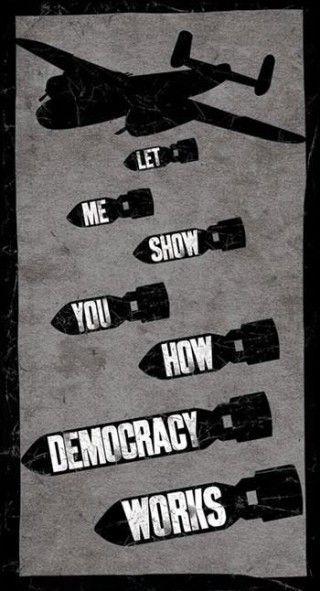 democracia a golpe no es democracia