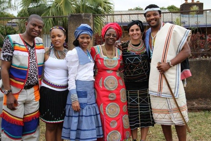 Latest South African Tswana Traditional Dresses For 2016