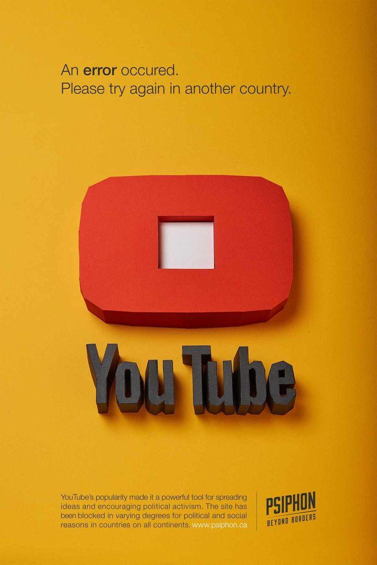 Psiphon: YouTube