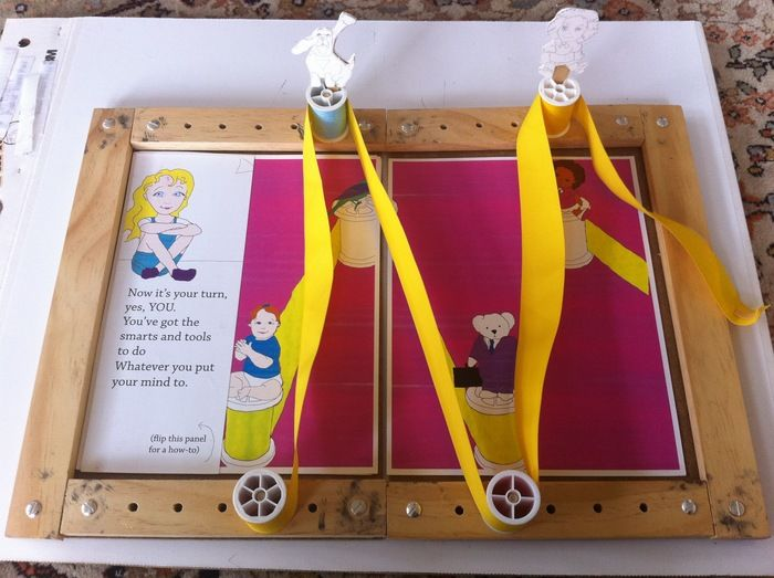 Original GoldieBlox prototype.  Kickstarter.com is helping make amazing things happen, like this! Engineering toys for girls