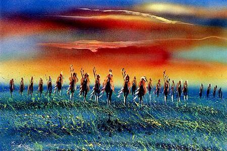 joanne bird First Nation artist - giclee