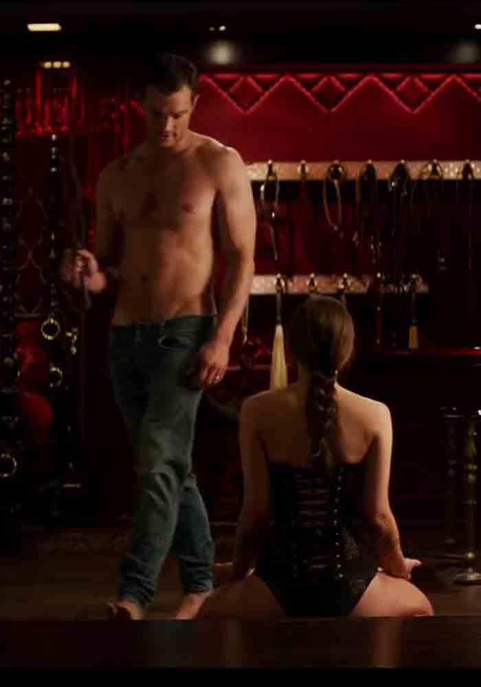 """Primer tráiler de """"Cincuenta sombras liberadas"""", la película que pondrá fin a la historia de amor de Christian Grey (Jamie Dornan) y Anastasia Steele (Dakota Johnson)."""