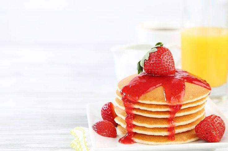 """""""Whey Proteinli Kahvaltılık Krep Tarifi""""  Unutmayın, güne ne kadar sağlıklı başlarsanız gününüz o kadar güzel devam eder!"""