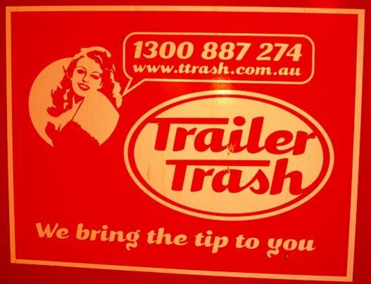 Funny Titles for Business - Trailer Trash | The Travel Tart Blog
