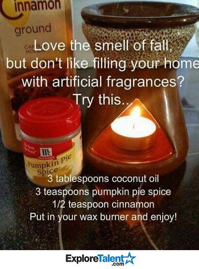Smells great & add 1 tsp vanilla