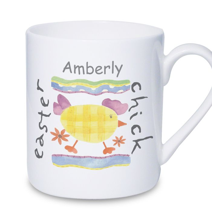 29 best easter gift ideas not just chocolate images on pinterest personalised easter chick mug perfect easter gift or present for little girl daughter granddaughter goddaughter sister niece friend girl with negle Gallery