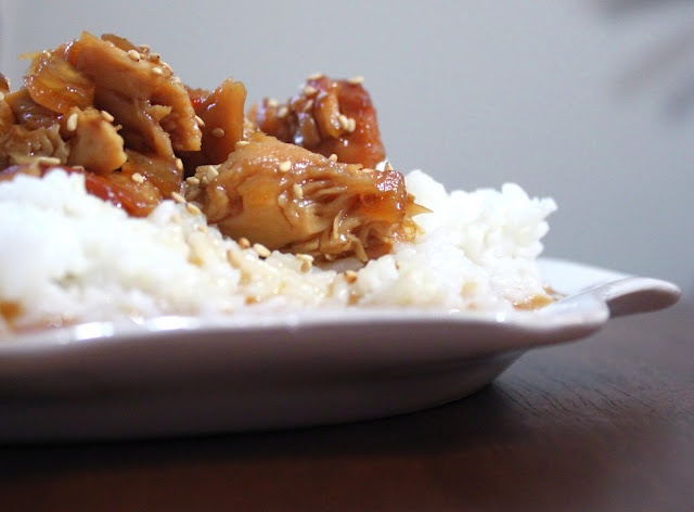 Crock Pot Honey Sesame Chicken | Dinner Ideas | Pinterest