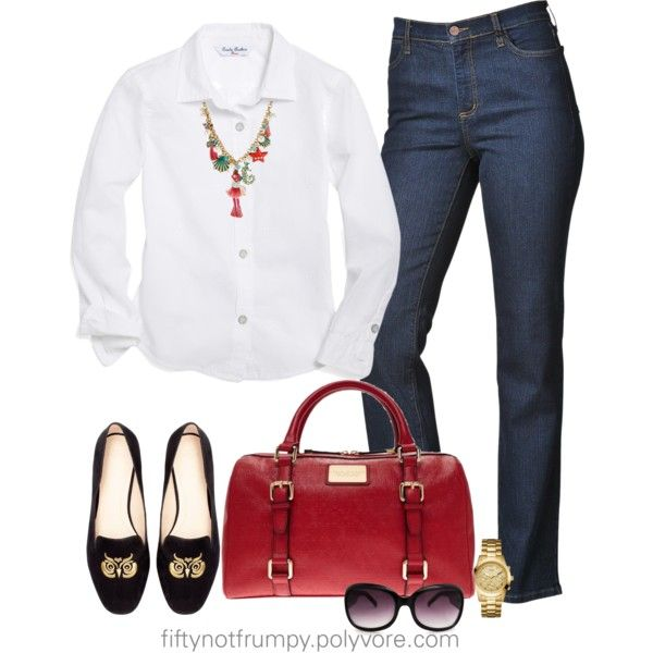 """Casual Friday"" by fiftynotfrumpy on Polyvore"