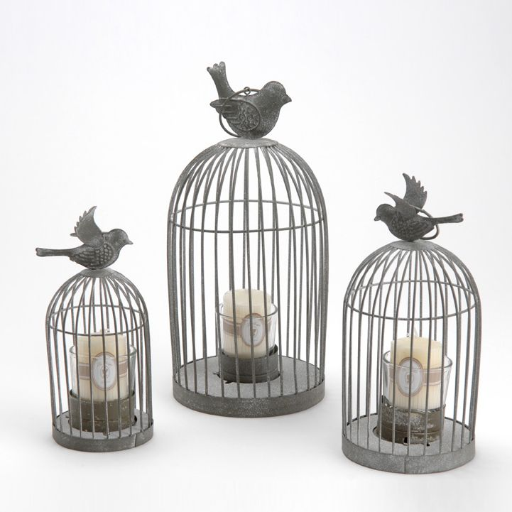 128 best images about deco on pinterest metal homes for Cage a oiseaux decorative