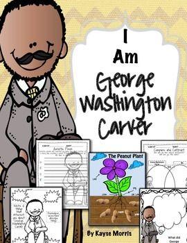 George Washington Carver ~ Black History Month : I am Geor