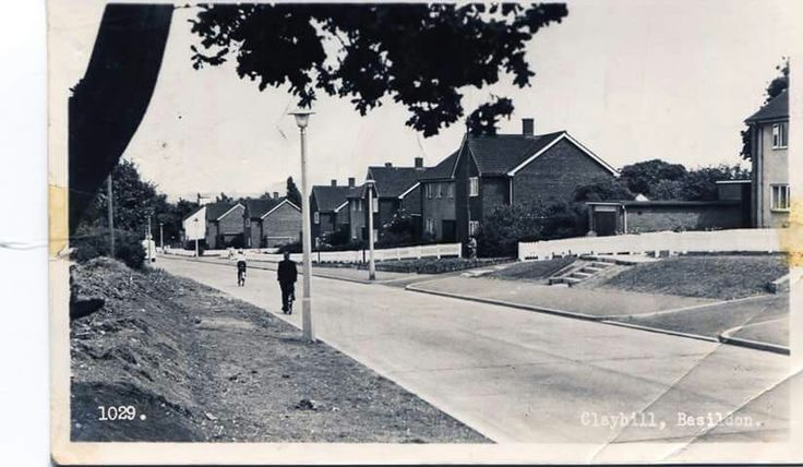 Clay Hill Road early 60's.