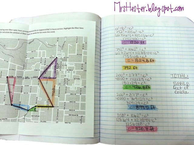 Great real world Pythagorean Theorem task idea | Mrs. Hester's Classroom