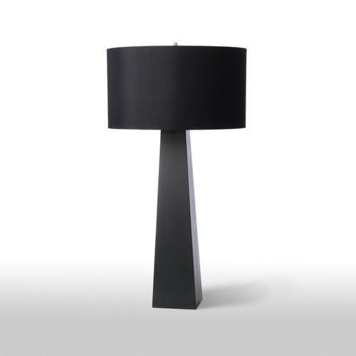 Monolith Black Table Lamp