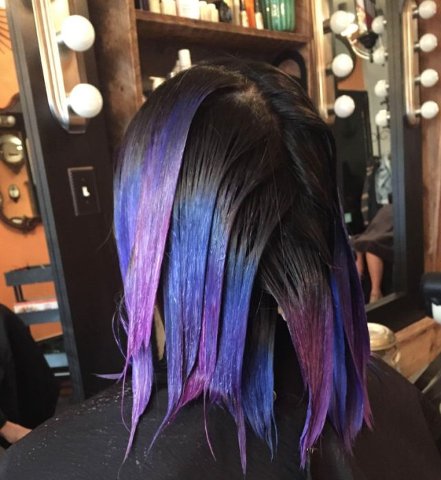 Year in Review: All the Many Crazy Hair-Color Trends of 2015  - MarieClaire.com